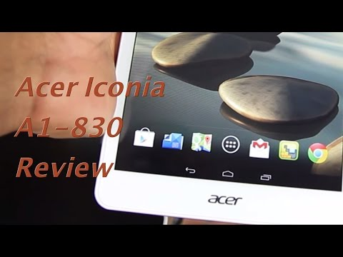 Acer Iconia A1-830 Review
