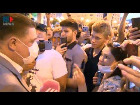 Короткий разговор с чиновником, Хабаровск