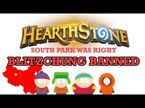 South Park Predicts the Future as Blizzard Bans Hearthstone Player For Supporting Hong Kong Protests