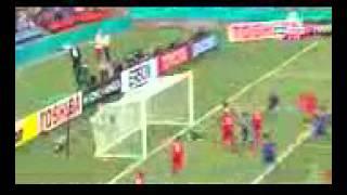 cuplikan goal Maya Yoshida - Japan vs Palestine 4-0 (Asian Cup 2015)