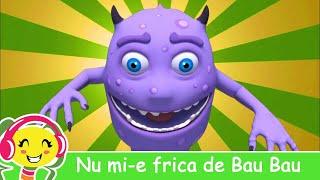 """Urmareste impreuna cu copilul tau cea mai frumoasa animatie 3D a cantecului pentru copii """"Nu mi-e frica de Bau - Bau"""" Nou!"""
