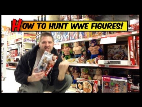 Grims Toy Show Episode 1: WWE Figure hunting, fans collections review, wrestling action news