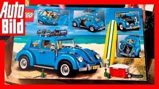 Unboxing Lego Volkswagen Käfer/Beetle (Set 10252) - AUTO BILD Quick Shot by Auto Bild