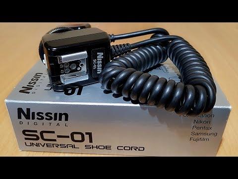 Utilizare cablu sincron TTL universal Nissin SC-01 cu Fujifilm X-T20 si blit-ul TTL Metz 26 AF-2