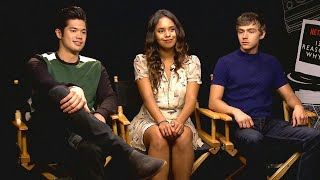 Video '13 Reasons Why' Cast Reveals What Surprised Them About Executive Producer Selena Gomez (Exclusiv… MP3, 3GP, MP4, WEBM, AVI, FLV Mei 2018