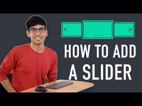 How To Create A Slider In Wordpress