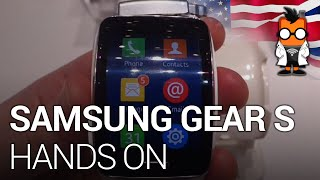 The Samsung Gear S follows in the footsteps of the Galaxy Gear and the Gear 2 as the latest Smart Watch from Korean giant Samsung. Mobile Geeks get hands on ...