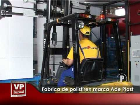 Fabrică de polistiren marca AdePlast