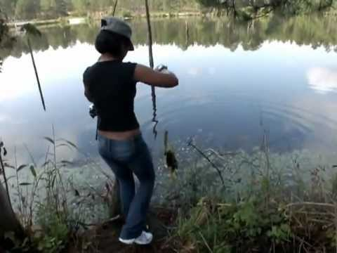 North Cal Sportfishing - Mylene and I checked out three lakes last weekend. Settled on Boundary Line Lake at the Edge of Fort Bragg. Here is a video of Mylene catching one of many ni...