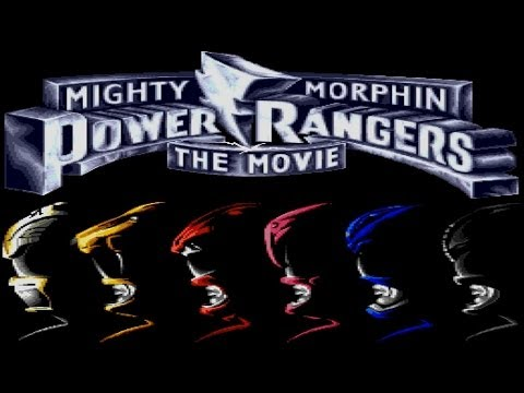 mighty morphin power rangers the movie sega genesis rom