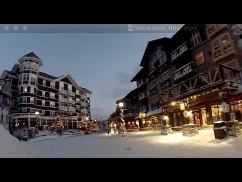 Snowshoe Mountain, West Virginia - Village Magic (видео)
