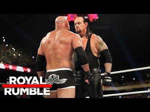 The Undertaker eliminates Goldberg in the Royal Rumble Match: Royal Rumble 2017 (видео)
