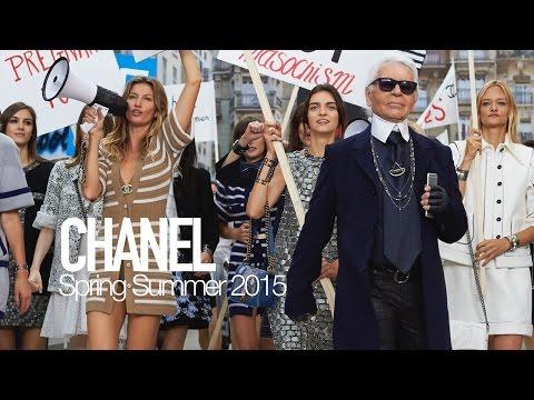 CHANEL Spring 2015 Karl Lagerfeld, Gisele Bundchen | MODTV видео