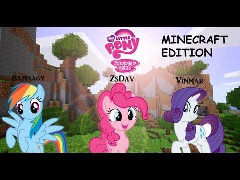 Minecraft - My Little Pony Mod w/ zsdav, vinmar717