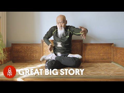 Flexible 70 Year Old Kung Fu Master