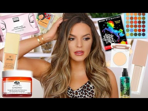 TALK THROUGH GET READY WITH ME! NEW PRODUCTS & SOME FAVORITES! | Casey Holmes