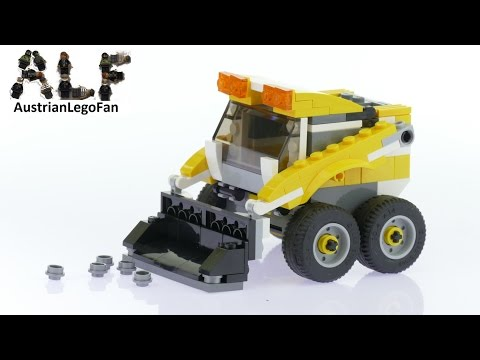 Lego Creator 31046 Skid Loader Model 3of3 - Lego Speed Build Review