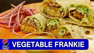 Vegetable Frankie Recipe || Khana Khazana || Sandesh News