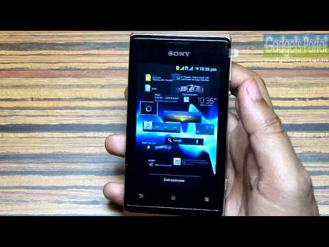Sony XPERIA E DUAL Unboxing and Hands on Review HD by Gadgets Portal