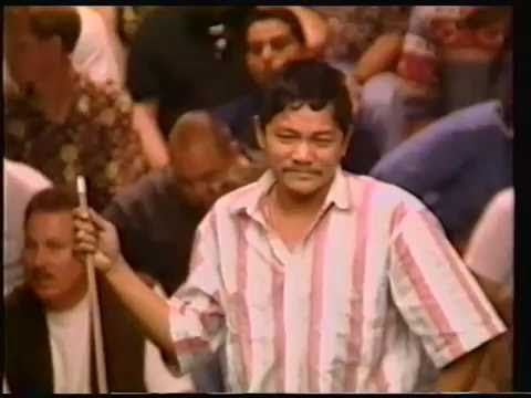 1995   Efren Reyes history-making Z-shot you will love
