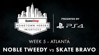 The GameStop Hometown Heroes Injustice 2 tournament circuit invites players from across the United States to compete in one of eight online regions. Competitors from all regions will battle online each week, with the Top 8 matches from a select location broadcast live every Wednesday at 5PM Pacific on the NetherRealm Twitch channel, and on Facebook. #HometownHeroes