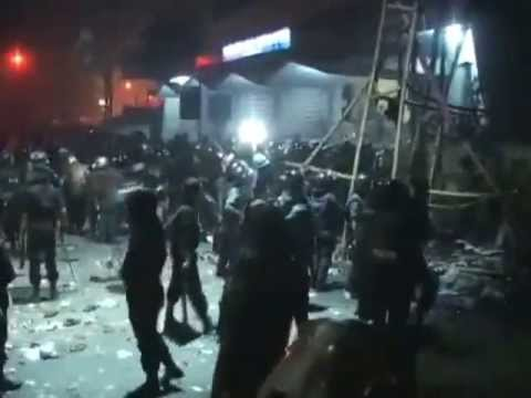 BD Police Attack on Hefajote Islam at Night & Many Injures & Dead-6