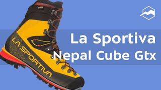 Ботинки для технических восхождений и микстовых маршрутов La Sportiva Nepal Cube GTX