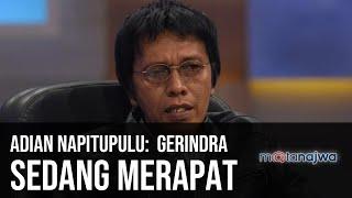 Video Gerbong Jokowi-Prabowo - Adian Napitupulu: Gerindra Sedang Merapat (Part 4) | Mata Najwa MP3, 3GP, MP4, WEBM, AVI, FLV Juli 2019