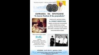 Gościem 65. spotkania będzie ks. ROBERT SKRZYPCZAK - kapłan archidiecezji warszawskiej, doktor habilitowany teologii,...