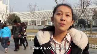 Rizhao China  city photos : Asking Chinese People: What Do you Want for Christmas? (Watch til the end)