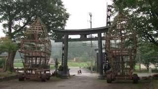 波々伯部神社例祭 中世から伝わる おやまの神事