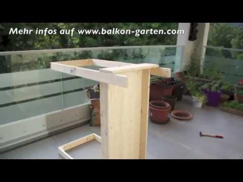 Hochbeet selber bauen - Meine Balkon Garten Tipps