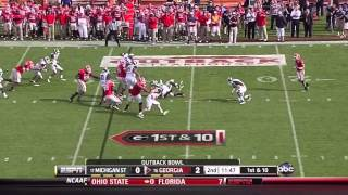 William Gholston vs Georgia (2011)