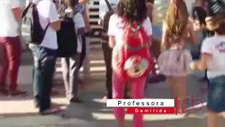 Demissão de Diretora irritam alunos que realizam manifesto nas Ruas de Marizópolis