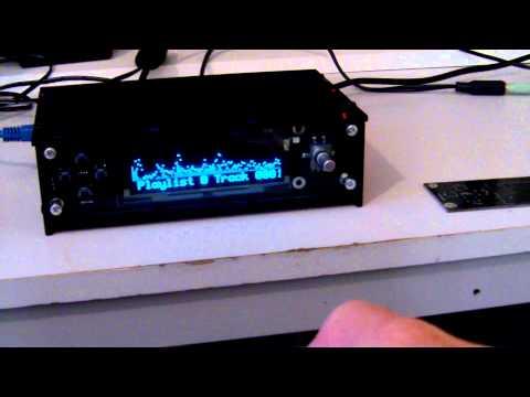 Raspberry Pi Centro Player Kit, MP3 player and Internet Radio