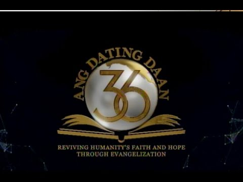 "ang dating daan 34th anniversary Really random reese bro eli was a household name and the program ""ang dating daan during the 35th anniversary of ang dating daan."