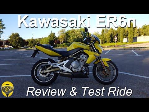 Review & Test Ride Kawasaki ER6n