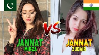 😎 Jannat Zubair Vs Jannat Mirza 😍 | India Vs Pakistan Tik Tok Battel