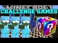 Minecraft Bob Army Challenge Games  Lucky Block Mod  Modded Mini Game