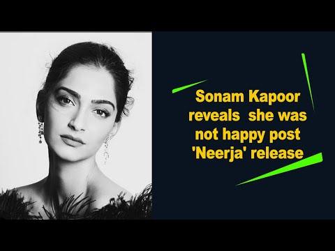 Sonam Kapoor reveals she was not happy post 'Neerja' release