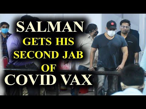Salman Khan gets his second jab of Covid vaccine on Eid