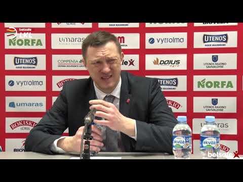 """""""Betsafe–LKL"""" rungtynių komentarai: """"Juventus"""" - """"Neptūnas"""" [2019-02-09]"""