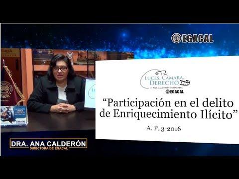 Programa 50 - Participación en el delito de enriquecimiento ilícito - Luces Cámara Derecho - EGACAL