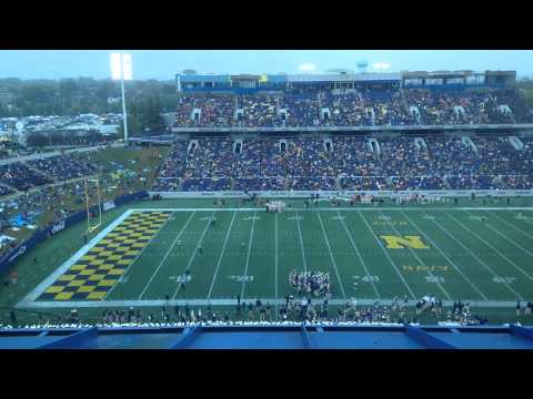 Navy Vs VMI Football 10/11/2104 (TIME LAPSE)
