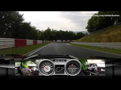 Nürburgring lap: SLS AMG Black Series