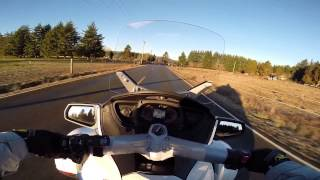 5. All New 2014 Can-Am Spyder RT 1330cc Triple! - 1st Ride Impressions!  | Motovlog 19