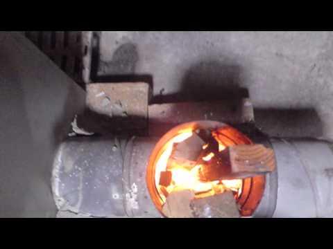 実働ロケットストーブ プロトタイプⅠ号【rocket stove】