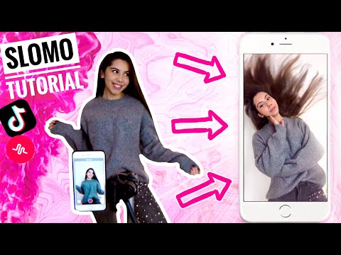 TikTok SLOW MOTION Tutorial - IPhone | Valeria Greb