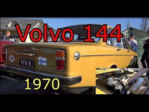 1970 Волво 144- Олд Классик Кар-Старые классические автомобили