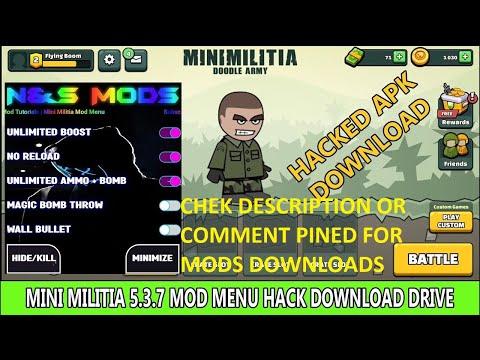 Mini militia mod 2.2.9 фото